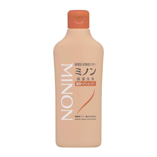 【医薬部外品】ミノン 薬用ヘアシャンプー しっとりタイプ 120ml   F20