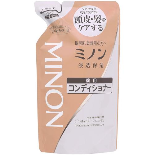 【医薬部外品】ミノン薬用コンディショナー 詰替用 380ml  F10