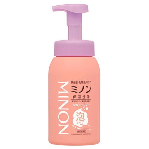 【医薬部外品】ミノン全身シャンプー泡ボトル 500ml