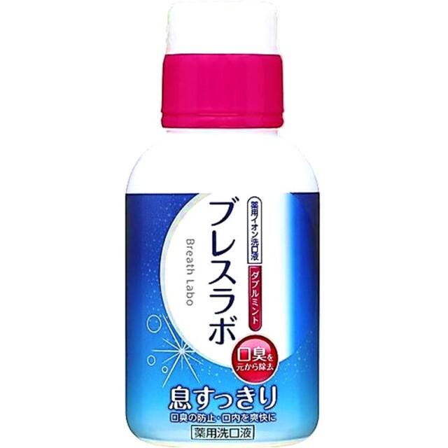 【医薬部外品】ブレスラボ マウスウォッシュダブルミント 80ml