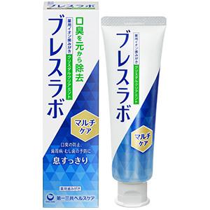 【医薬部外品】ブレスラボマルチケア CTクリアミント 90g