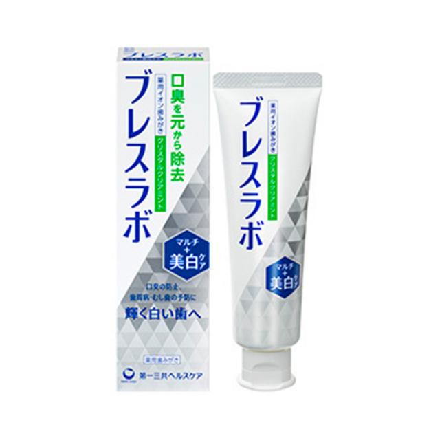 【医薬部外品】ブレスラボマルチ美白ケア CTクリアミント 90g