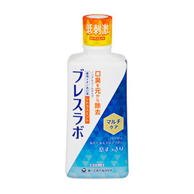 【医薬部外品】ブレスラボマウスウォッシュマルチケア シトラスミント 450ml