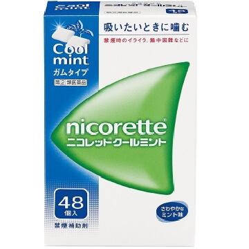 【指定第2類医薬品】ニコレット クールミント 48個入  SM税制対象