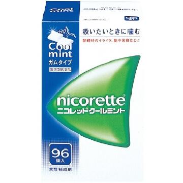 【指定第2類医薬品】ニコレット クールミント 96個入  SM税制対象