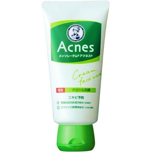【医薬部外品】メンソレータムアクネス 薬用クリーム洗顔 130g  F05