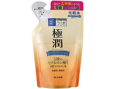 【ロート製薬】肌研極潤プレミアムヒアルロン液詰替 170ML F15