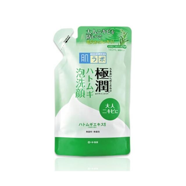 肌ラボ 極潤 ハトムギ泡洗顔つめかえ用 140ml