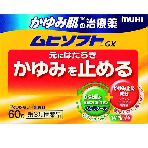 【第3類医薬品】かゆみ肌の治療薬 ムヒソフト 60g
