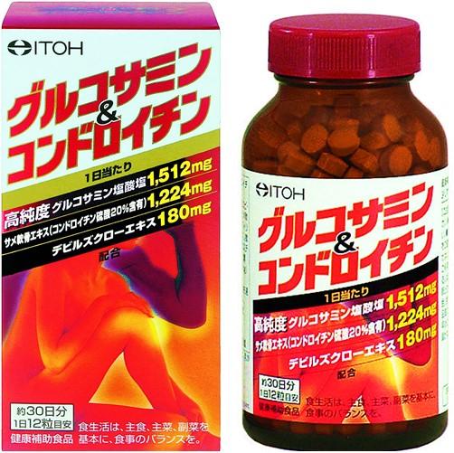 グルコサミン&コンドロイチン 360粒 F05
