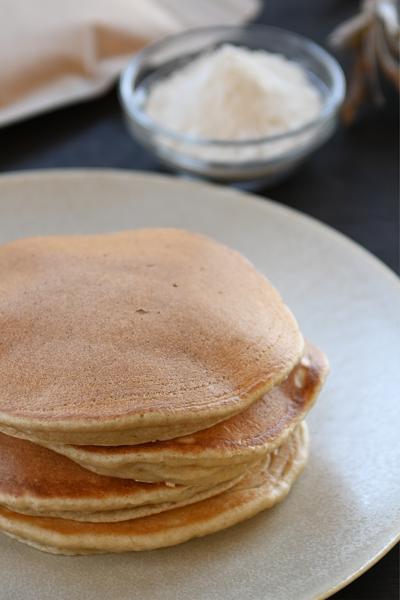 はとむぎ粉と有機全粒粉のパンケーキミックス