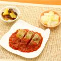 チキングリルのトマトソース
