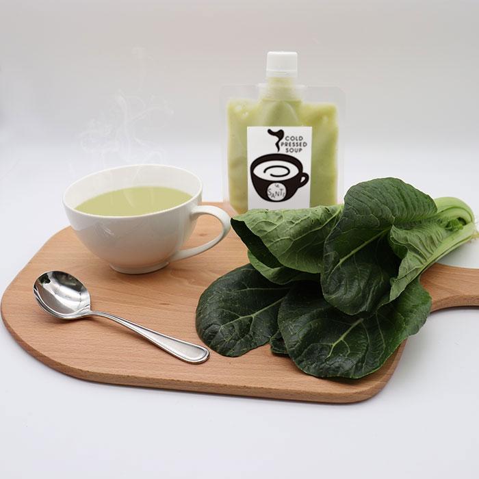 小松菜スープ 旨味たっぷりで美味しい