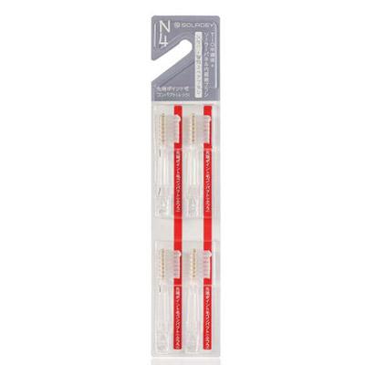 ソラデーN4歯ブラシ 専用スペアブラシ 4本入