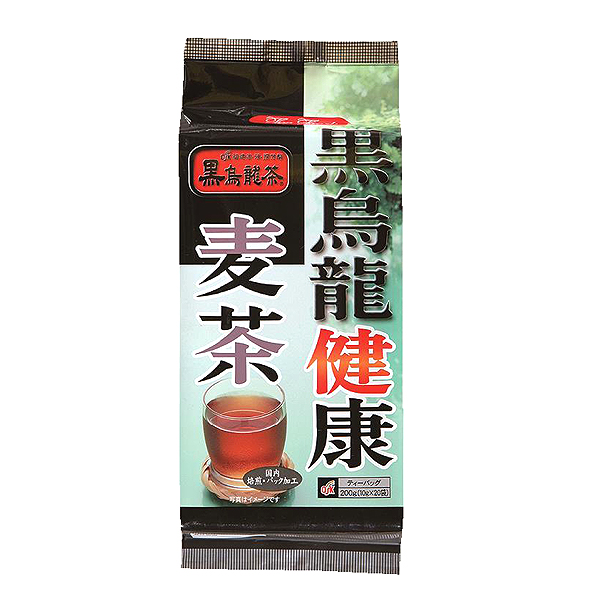 黒烏龍健康麦茶20袋  200g(10g×20袋)