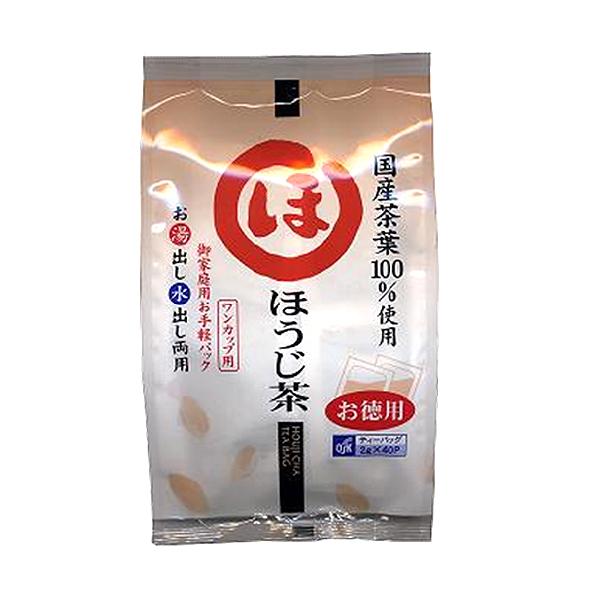 徳用ほうじ茶2g×40袋(御家庭用) ワンカップ用 国産茶葉100%使用