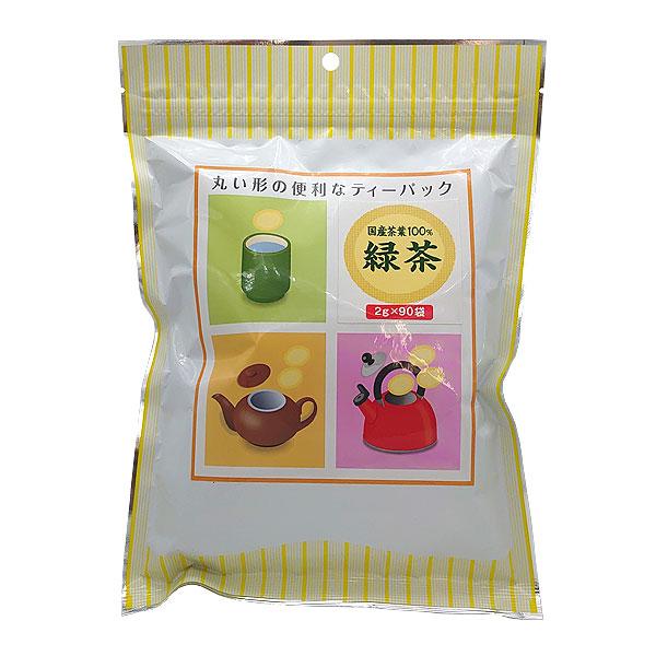 丸型ティーパック緑茶 90パック