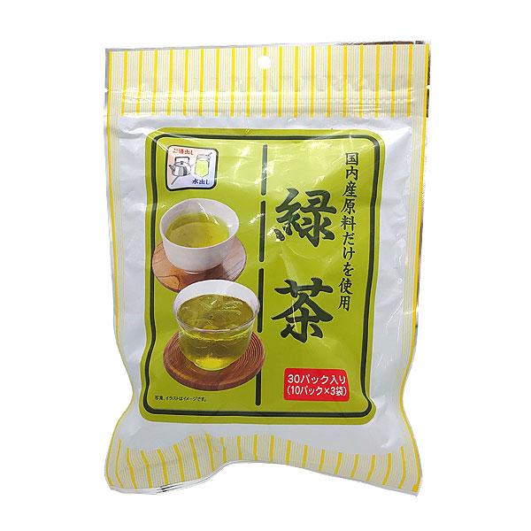 角型ティーパック緑茶 30パック