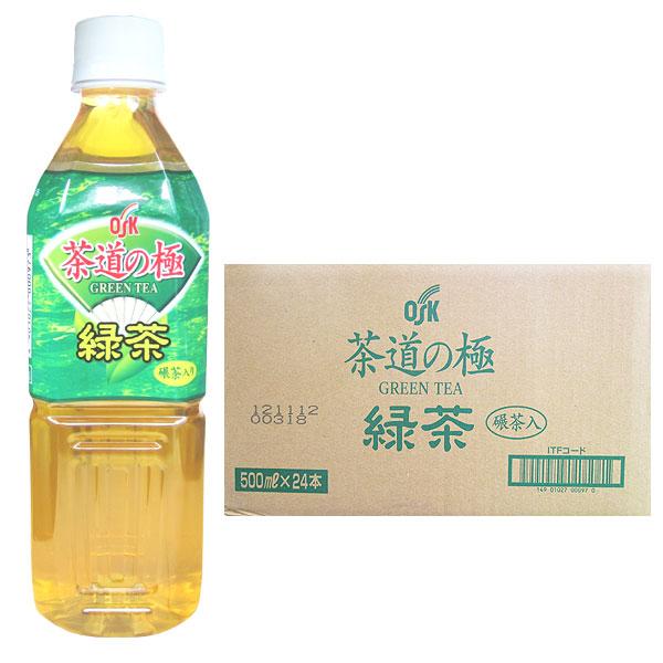茶道の極 緑茶(500ml×24本)