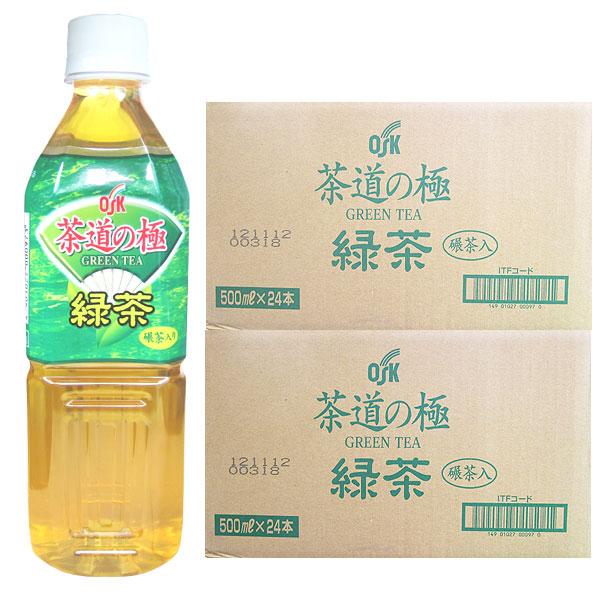 茶道の極 緑茶(500ml×48本)