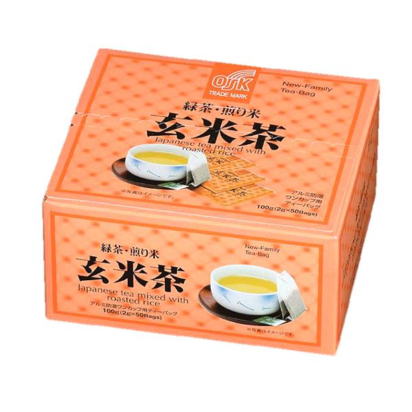 ニューファミリー玄米茶50袋 100g(2g×50袋)