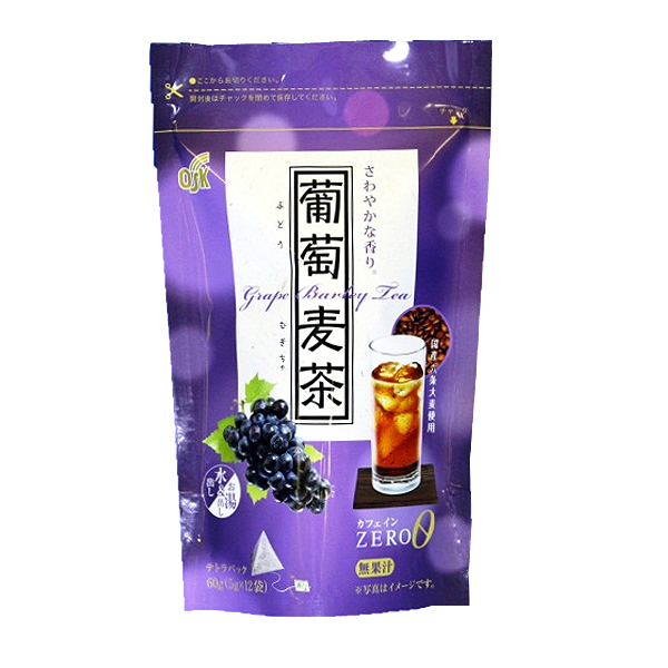 OSK葡萄麦茶 5g×12袋