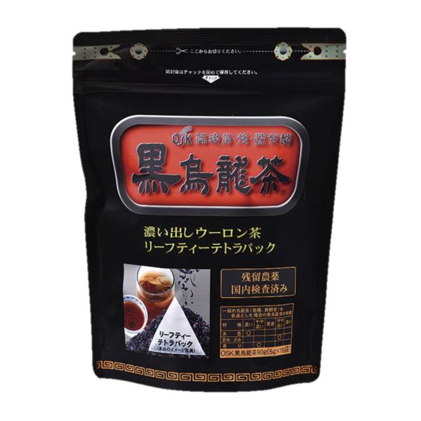 OSK黒烏龍茶18袋 90g(5g×18袋) 福建省・強・深発酵