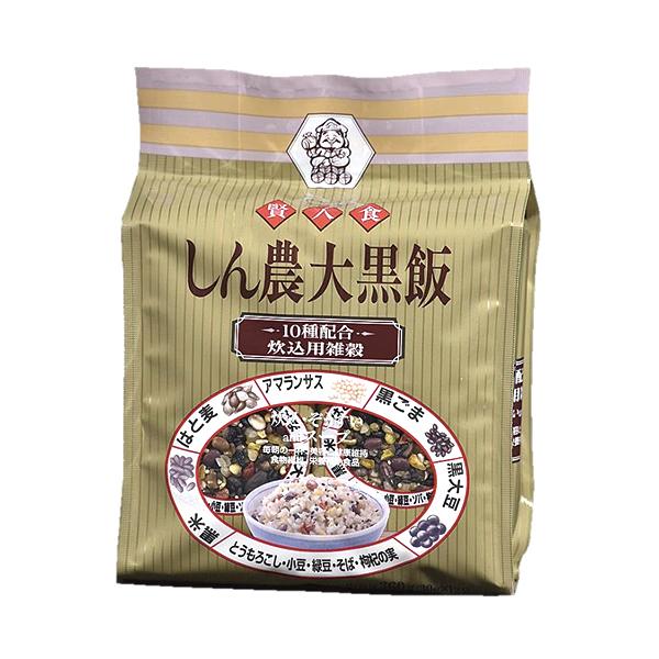 10種配合 しん農大黒飯12袋 360g(30g×12袋)
