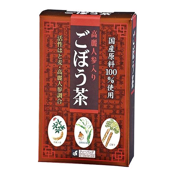 高麗人参入りごぼう茶 32袋 128g(4g×32袋)