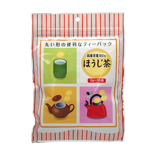 丸型ティーパック ほうじ茶 30パック