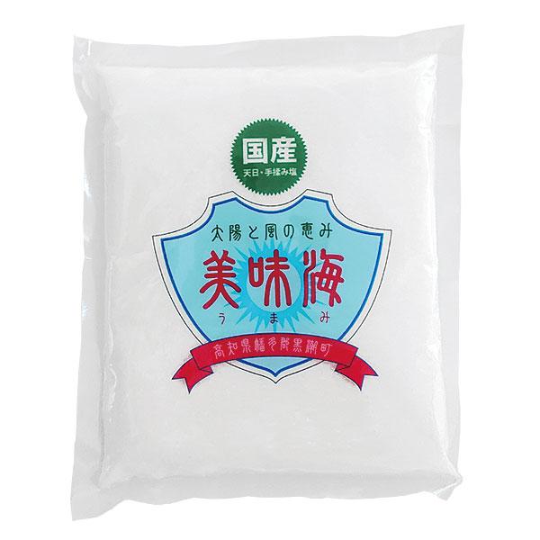 美味海 食塩(天日塩) 500g
