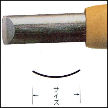 三木章ハイス鋼彫刻刀 浅丸型 画像