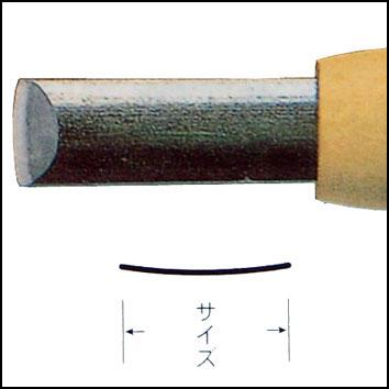 三木章ハイス鋼彫刻刀 カマクラ型 画像