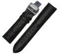 【送料無料】エスパイ・トゥールビヨン(ESPY・Tourbillon)専用クロコベルト ブラック(20mm)