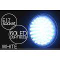 省エネ・コンパクト 消費電力3ワット E17規格 LED60灯電球 白色光