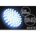省エネ・コンパクト 消費電力3ワット E26規格 LED60灯電球 白色光