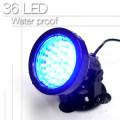 36灯スポットライト 36LED  水槽用防水ライト