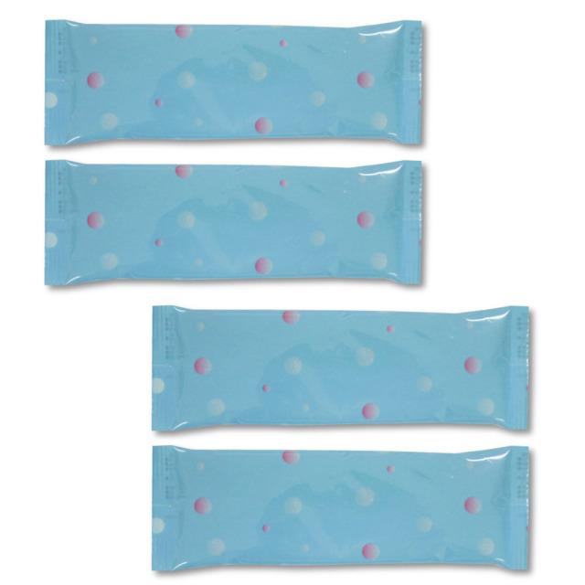 ヘッドクールヘアバンド用 交換用ジェル袋4本セット(HCB3-48、HCB2-48、HCB-48用)