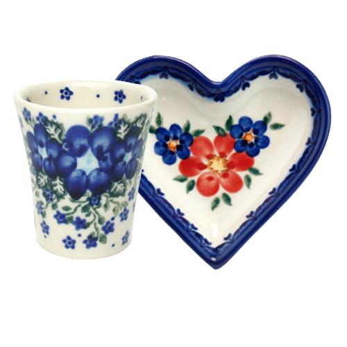 ポーランド陶器 プチギフトセットA