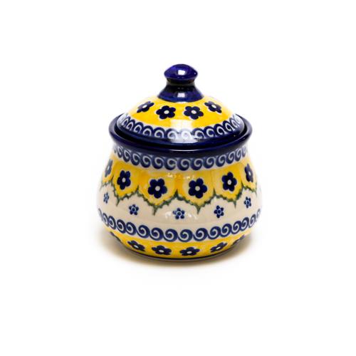 ポーランド陶器 シュガーポット