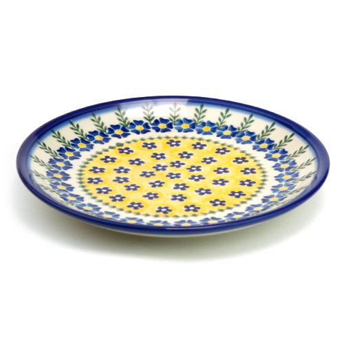 ポーランド陶器 平皿φ19cm