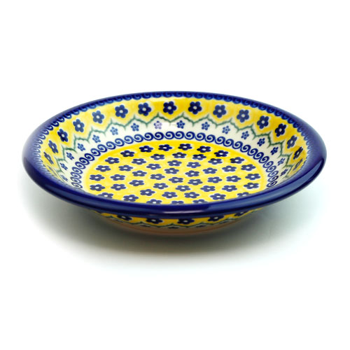 ポーランド陶器 スープ皿