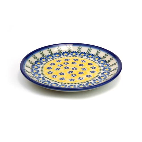 ポーランド陶器 平皿φ17cm