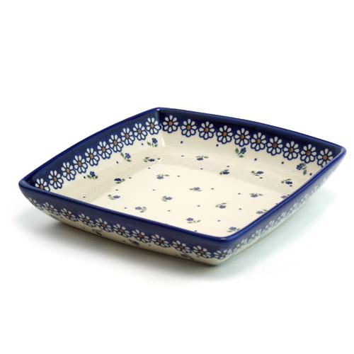 ポーランド陶器 タフィー皿