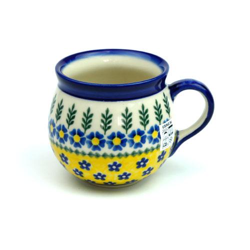 ポーランド陶器 ポーリッシュマグ・大