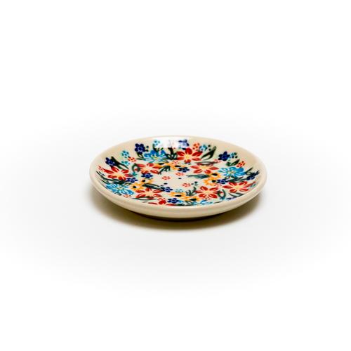 ポーランド陶器 平皿φ10cm