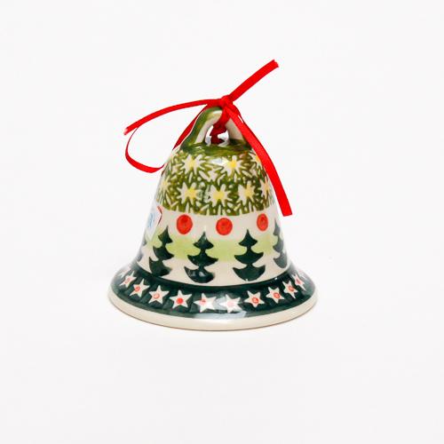 ポーランド陶器 クリスマスオーナメント
