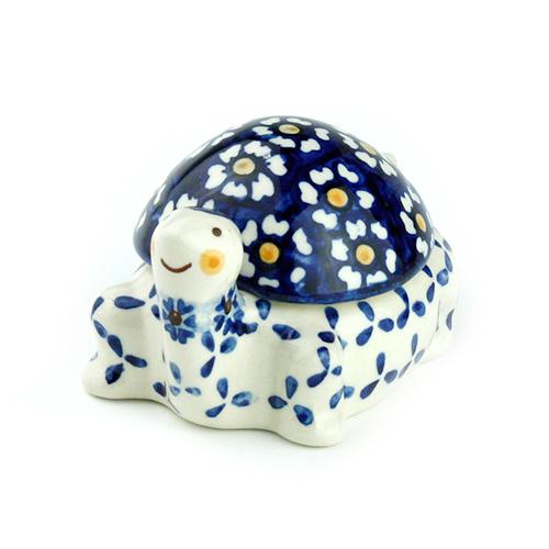 ポーランド陶器 タートルボックス