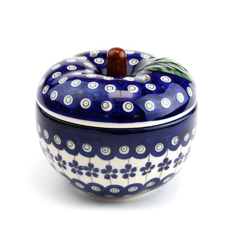 ポーランド陶器  リンゴポット