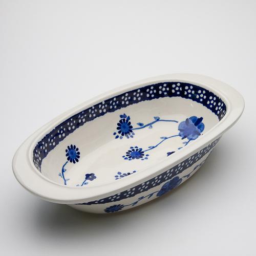 オーブン皿・オーバル・小(Z227-273)